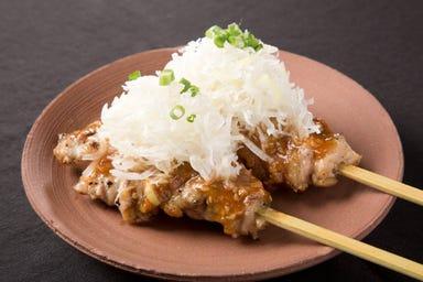 炭火串焼 成増 鶏八丁  メニューの画像