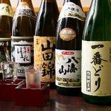 オリジナル日本酒や焼酎など鶏料理と相性抜群の地酒豊富にご用意