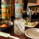 酔っぱらい鷄に使用されている黒霧島はリーズナブルにご提供!