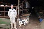地元所沢にある見澤牧場の見澤さん。美味しいお肉宜しく願います