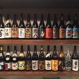 豊富なドリンク!焼酎・日本酒、銘酒そろえております♪