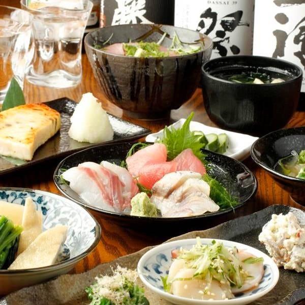◇味家のコース料理5,000円~◇旬の味をたのしむ全8品