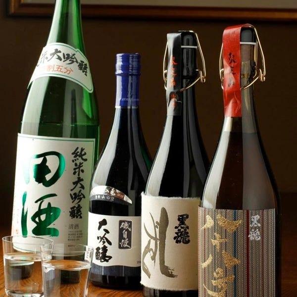日本酒好きにはたまらない銘柄ズラリ
