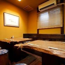 ◆接待/会食/ご宴会に最適な個室空間