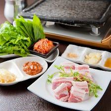 韓国の豚肉の焼肉スタイル☆