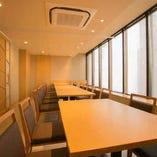 【扉付き宴会個室】最大20名様までの人気の宴会個室席。