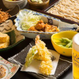 お手軽宴会プランは当日OKで100分飲み放題付き3000円(税込)
