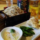 1000円税込〆蕎麦セットはコスパ抜群!