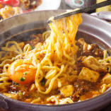 当店おすすめ!女性からも大人気のピリ辛麻婆麺
