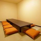 【2階】接待やグループにも最適なお席。