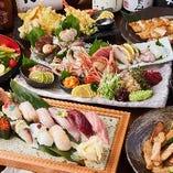 ご自宅でパーティやお祝いの際に、和食、イタリアン、中華、デザートをご用意する事も可能です。