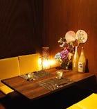 【テーブル席/4名様】宴会・飲み会にはこちらのお席がおすすめ!