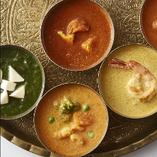 本場インドの味を再現しつつも日本人にも取り入れやすいお料理を