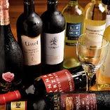 ボトルワインは全品2,980円(税抜)でご用意