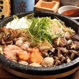 タラと豆腐の和風鍋