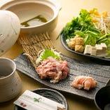 【期間限定】鶏本来の旨味を存分にお楽しみいただけるお鍋の王道『水炊きセット』