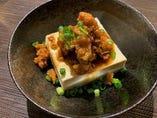 鶏そぼろ豆腐