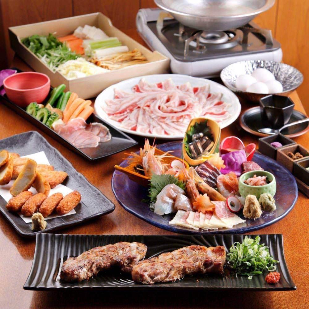 コース料理は個別盛り対応も承ります。