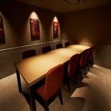 8名様まで利用可能なドアありの完全個室