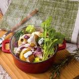 10種のグリル野菜 ペンネグラタン