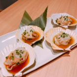 殻付ホタテ(磯焼/ガーリックバター)