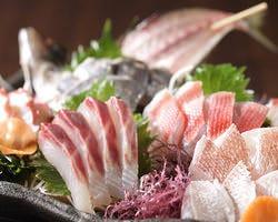 三浦地魚盛り合わせ 1100円~