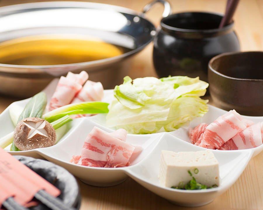 鹿児島食材を使用した薩摩料理