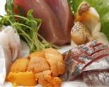 厳選された鮮魚を匠の技でさばきます。
