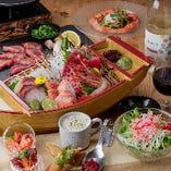 【コース】 当日仕入れた新鮮な食材で仕立てる日がわり料理