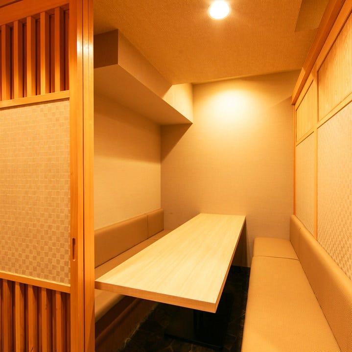 ◆粋な個室の数々・2~40名様対応◆
