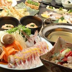 新鮮な鯛を贅沢に味わう、鯛しゃぶ