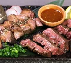 熊本馬刺・熟成肉 馬タン 牛タン