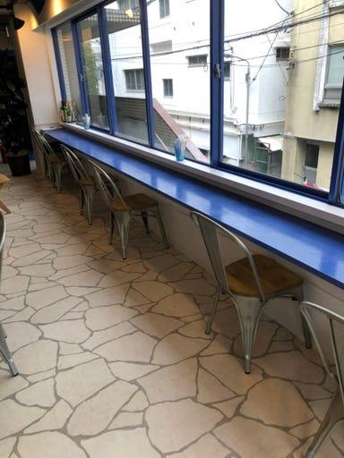 blue nine cafe(ブルー ナイン カフェ)  店内の画像