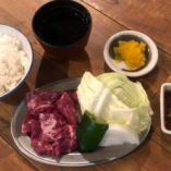 牛ハラミ定食