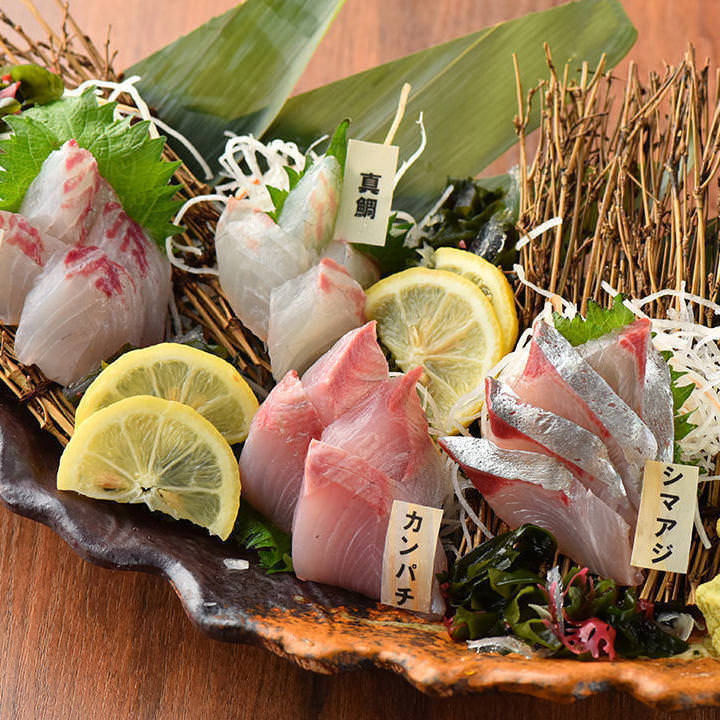 旬の海鮮おすすめ料理ゆったり個室で