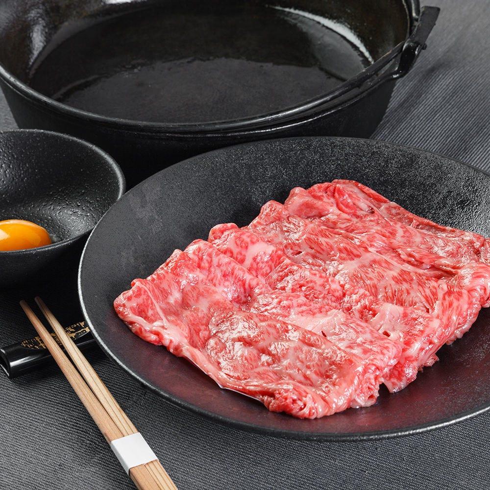 牛しゃぶしゃぶor牛すき焼き鍋コース