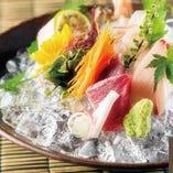 毎朝仕入れる鮮度抜群の鮮魚をお客様にお届け◎!