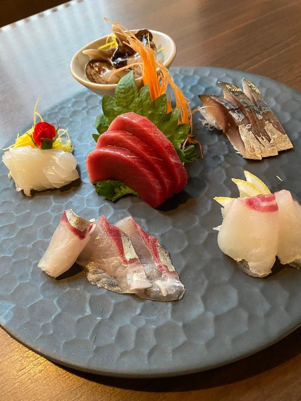こだわりの海鮮料理!