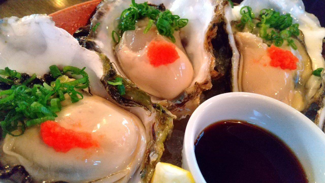 牡蠣が美味!