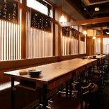 [日本の伝統的な格子] 個室風に使えるご宴会席。22名様迄対応
