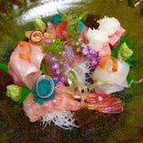 旬の食材を活かすような調理法で。味覚・視覚で四季を味わう