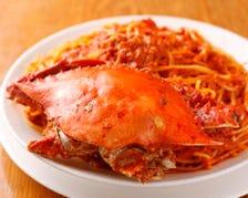 【★人気NO.1★】渡り蟹のスパゲッティ