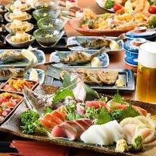 地酒・焼酎・果実酒が豊富です。