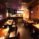 【2Fフロア|DINING】少人数貸切15名~ ビールバーのダイニングで貸切パーティー!