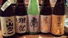 本格焼酎!日本酒、銘酒揃い!
