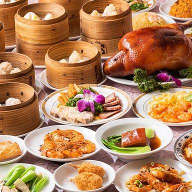 横浜中華街 窯焼き北京ダック食べ放題 龍翔記 コースの画像