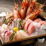 人気の海鮮玉手箱