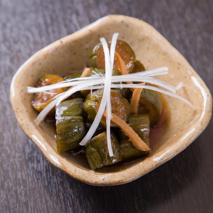 『夢心家』イチオシの胡瓜漬けは箸休めやおつまみにもぴったり◎
