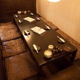 掘りごたつ席半個室(~4名様×5部屋)