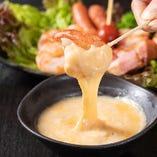 ホワイトソースと3種のチーズ